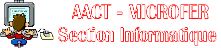 le site de l'AACT - Section Informatique